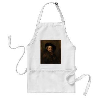 Avental Belas artes do retrato de auto de Rembrandt Van