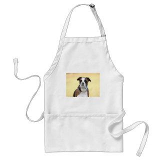 Avental Benson o cão do pugilista