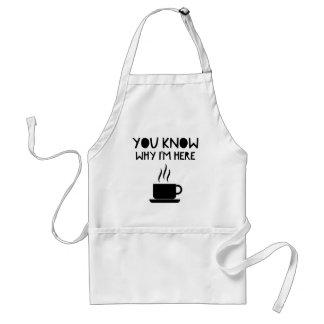 Avental Bolsa de estudo bêbeda anónima do AA do café