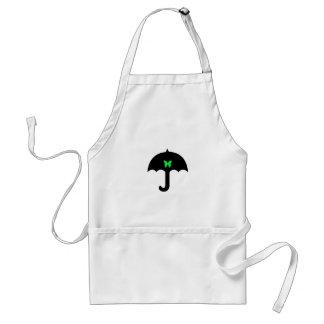 Avental Borboleta no guarda-chuva