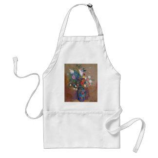 Avental Buquê das flores - Odilon Redon