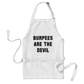 Avental Burpees é o diabo