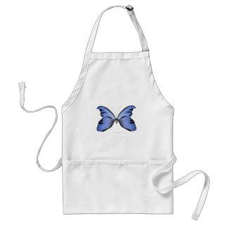 Avental Caçador azul do Azure da borboleta 2
