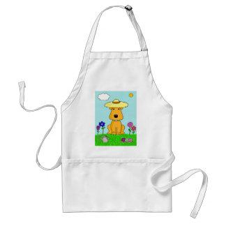 Avental Cão de Airedale Terrier dos desenhos animados no