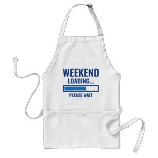 Avental Carga do fim de semana