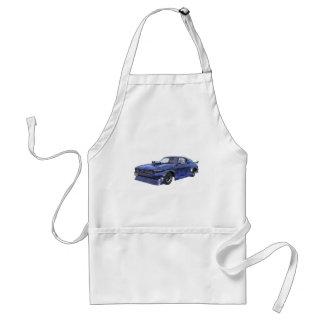 Avental Carro azul do músculo de 2016 estrelas