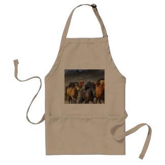 Avental Cavalos selvagens