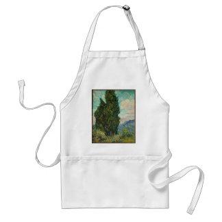 Avental Ciprestes de Van Gogh