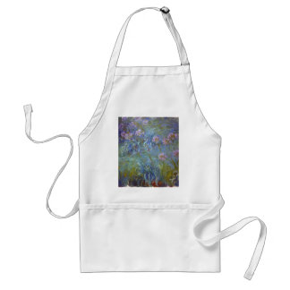 Avental Claude Monet - pintura clássica das flores do