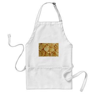 Avental Comida de petisco das microplaquetas de batata