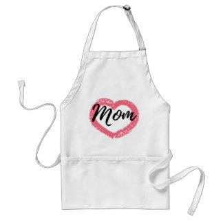 Avental Coração do pastel da mamã