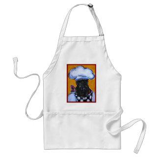 Avental Cozinheiro chefe de Terrier de azul de Kerry