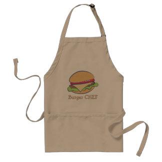 Avental Cozinheiro chefe do hamburguer