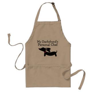 Avental Cozinheiro chefe pessoal do cão do Wiener