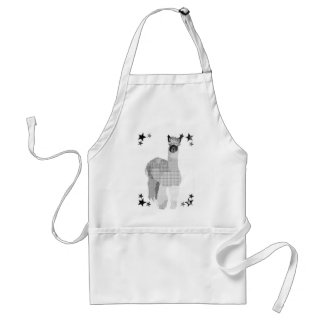 Avental da arte da alpaca