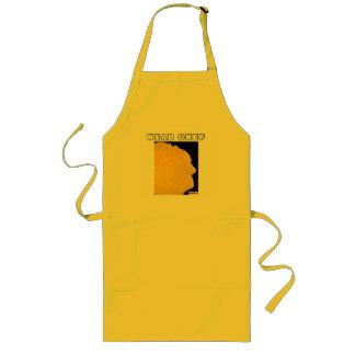 Avental da arte da panqueca do cozinheiro chefe