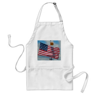 Avental da bandeira da estrela dos EUA 15