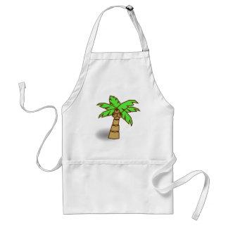 Avental Desenho da palmeira