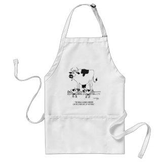Avental Desenhos animados 3372 da vaca