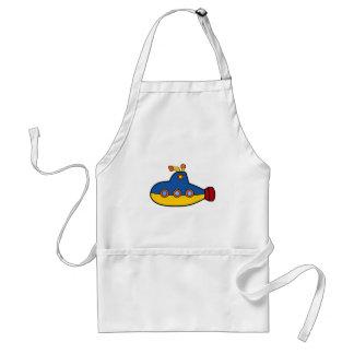 Avental Desenhos animados do submarino do brinquedo