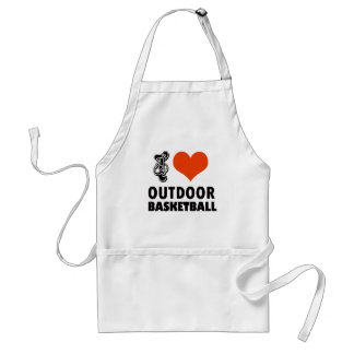 Avental design do basquetebol