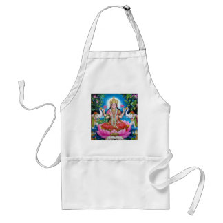 Avental Deusa de Lakshmi de amor, de prosperidade, e de