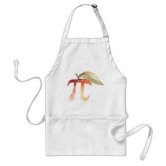 Avental Dia do Pi, símbolo, torta de Apple. Ciência da