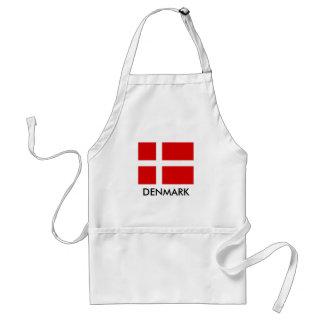 Avental dinamarquês da cozinha do CHURRASCO da