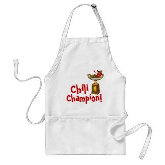 Avental do campeão do Cozinheiro-Fora do pimentão