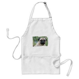 Avental do cão de filhote de cachorro do Pug