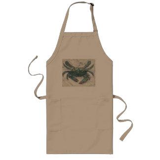 Avental do caranguejo azul de baía de Chesapeake