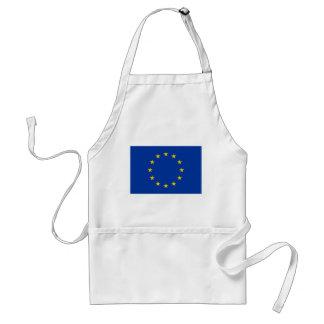 Avental do CHURRASCO da bandeira da União Europeia