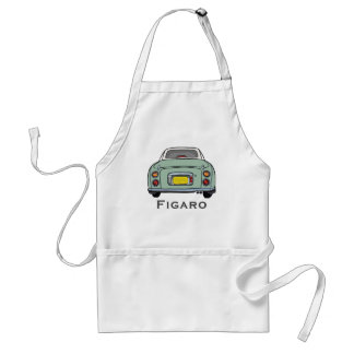 Avental do CHURRASCO do carro de Nissan Figaro do