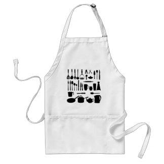 Avental do cozinheiro chefe do cozinhar da bandeja
