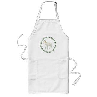 Avental do cozinheiro e do artesanato da gama da