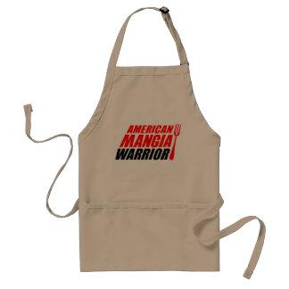Avental do guerreiro de Mangia do americano