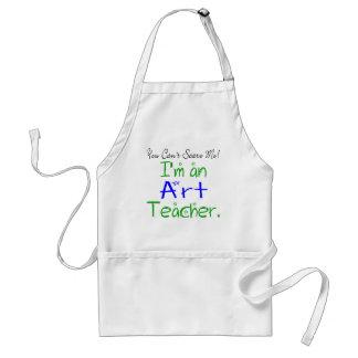Avental do professor de arte