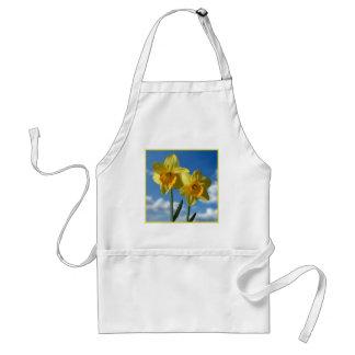 Avental Dois Daffodils amarelos 2,2