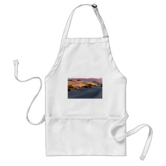 Avental Dunas de areia lisas o Vale da Morte do Mesquite