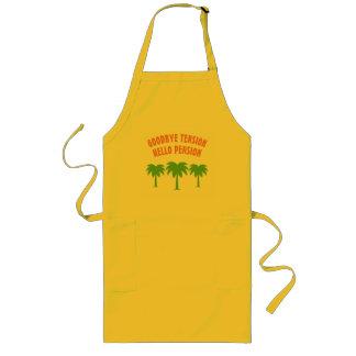Avental engraçado do churrasco da cozinha para