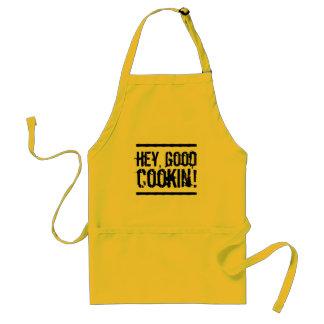 Avental Engraçado Hey, bom Cookin'!