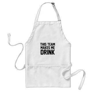 Avental Esta equipe faz-me beber