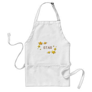 Avental estrelas