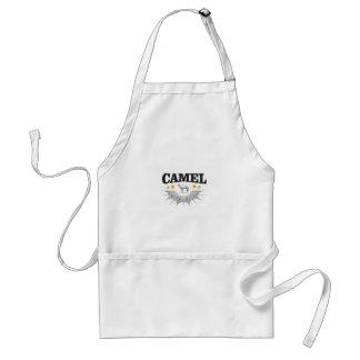 Avental estrelas do camelo