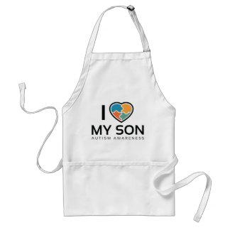 Avental Eu amo meu filho