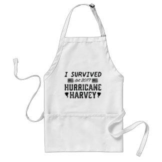 Avental Eu sobrevivi ao furacão Harvey