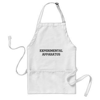 Avental experimental do instrumento