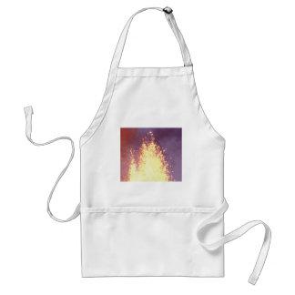 Avental explosão do fogo