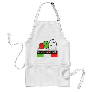 Avental Fantasmas do Dia das Bruxas do italiano, Fantasmi