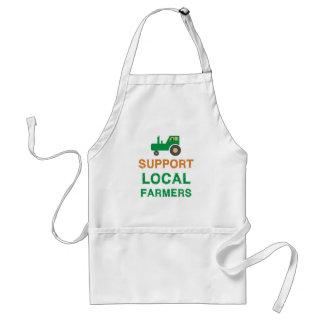 Avental Fazendeiros do Local do apoio